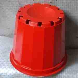 Red pots